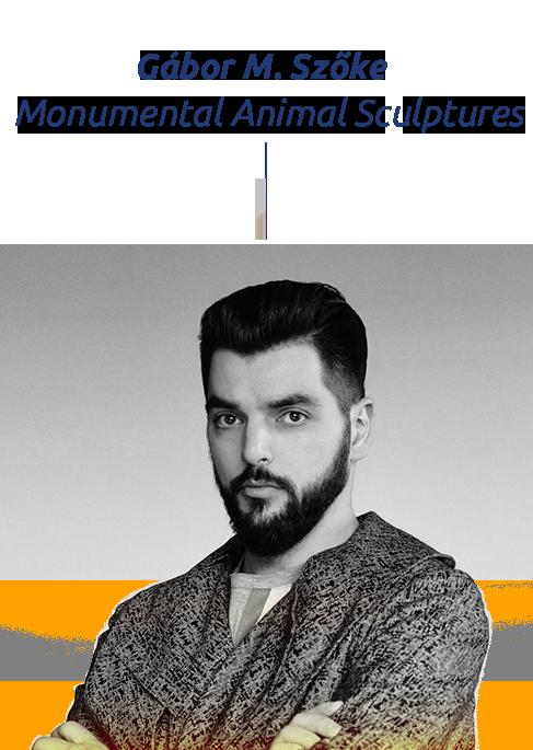 Gabor M. Szoke Monumental animal sculptures